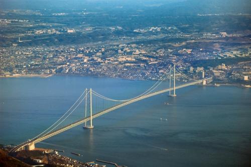 Самый длинный подвесной мост в мире